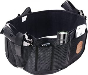 Belly BAnd Holster for Multiple Weapons